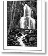 Moss Glen Falls Poster Metal Print