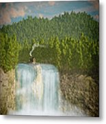 The Waterfall... Metal Print