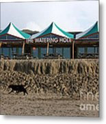 The Watering Hole Perranporth Metal Print