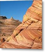 'the Wave' North Coyote Buttes 13 Metal Print
