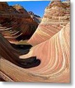 'the Wave' North Coyote Buttes 19 Metal Print