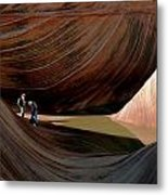 'the Wave' North Coyote Buttes 44 Metal Print