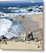 The Waves - The Sea Metal Print
