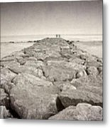 The Way To The  Sea Metal Print