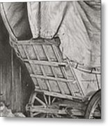 The Weary Traveler Metal Print