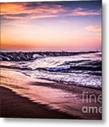 The Wedge Newport Beach California Picture Metal Print by Paul Velgos