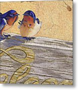 The Welcome Committee Metal Print by Tracy L Teeter