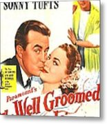 The Well Groomed Bride, Us Poster Metal Print