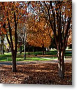 The Well In The Distance-davidson College Metal Print