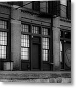 The West Bottoms Bw Metal Print