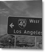 The West Is The Best Metal Print