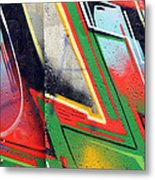 The West Side Of The Wall Metal Print