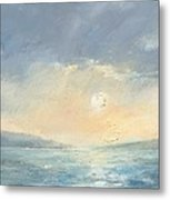 The Western Solent Part Eight Metal Print by Alan Daysh