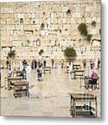 The Western Wall In Jerusalem Israel Metal Print