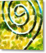 The Wet Whirl  Metal Print