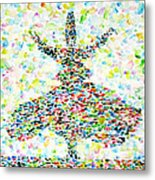 The Whirling Sufi Metal Print
