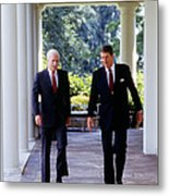 The White House, Republican Senator Metal Print