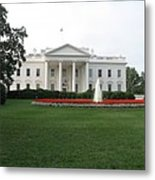The White House - Washington D C Metal Print