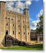 The White Tower Metal Print
