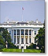 The Whitehouse - Washington Dc Metal Print