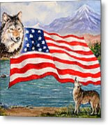 The Wildlife Freedom Collection 1 Metal Print