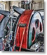 The Winding Engine Metal Print