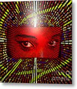 The Window To My Soul Metal Print by Lewanda Laboy
