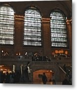 The Windows At Grand Central Terminal Metal Print