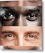 The windows to the soul, no matter where you're from! Metal Print