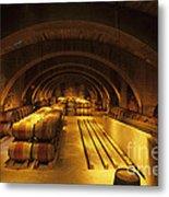 The Wine Room Metal Print