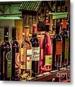 The Wine Shop Metal Print