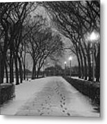 The Winter Cathedral Metal Print