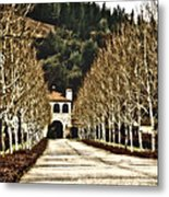The Winter Of Brassfield Metal Print
