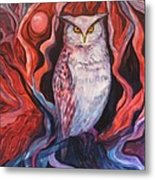 The Wise One Metal Print