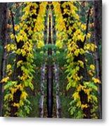 The Wishbone Tree Metal Print
