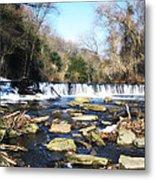 The Wissahickon Creek In February Metal Print