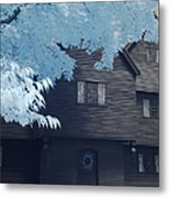 The Witch House In Infrared Metal Print