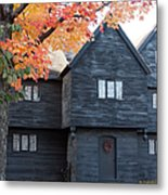 The Witch House Of Salem Metal Print