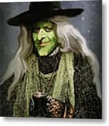 The Witch Of Endor As A Cavalier Metal Print