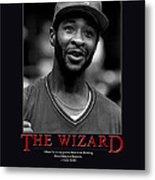 The Wizard Ozzie Smith Metal Print