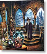 The Wizards Castle Metal Print