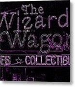 The Wizard's Wagon 2 Metal Print