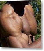 The Wonder Of Biceps Metal Print