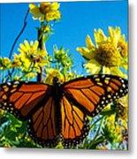 The Wonderful Monarch 3 Metal Print