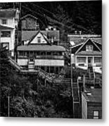 The Wooden Path Metal Print