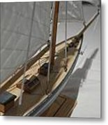 The Wooden Ship Metal Print by Aqil Jannaty