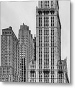 The Woolworth Downtown Metal Print