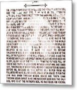 The Word Became Flesh Metal Print