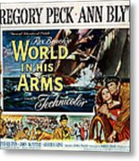 The World In His Arms 1952 Metal Print