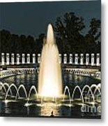 The World War II Memorial Metal Print